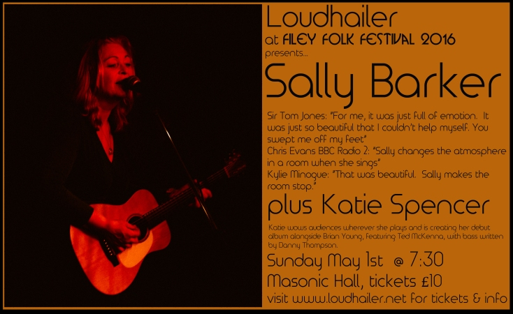 Sally Barker Filey poster
