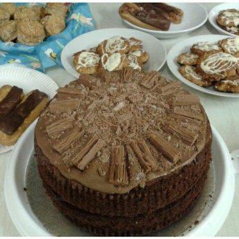 Elaine's Family Chocolate Cake