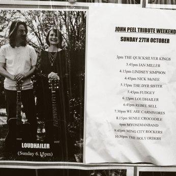 Poster outside the Adelphi