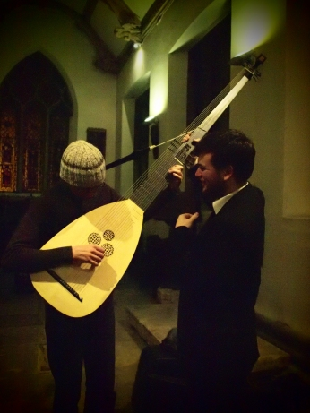 Theorbo Lesson