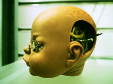 Steampunk Baby Head by Bare Industry