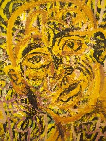 Geoff Keen painting detail
