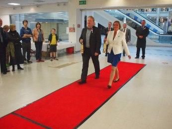 Red Carpet Walk