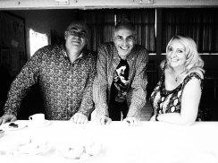 Bill, Graham and Jan