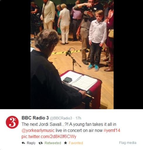 Radio 3 Tweet Dex and Jordi
