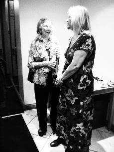 Mum and Sally catching up