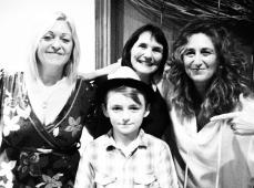 Sally, Lou, Vicki and Dex