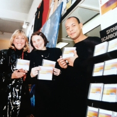 Lou, Maggi Ronson and Roland Gift in Sydney Scarborough