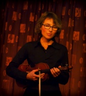 Here's Vivian Querido with the premiere of her new violin poem song, Ladies in Blue.