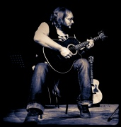 Karl Oakes - the first person to get in touch when we started the acoustic night in 2011 - this is from February 2013.