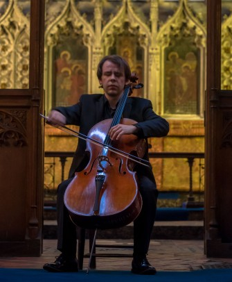 Thomas Bertolotti at St Mary's Church