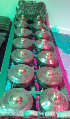 Gamelan in green