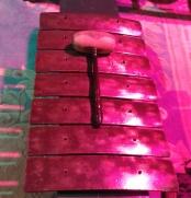 Gamelan in pink