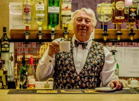 John at the bar