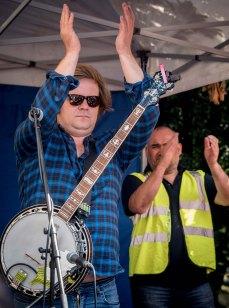 Hillbilly Troupe - Jeremy Corbyn - Queens Gardens Hull