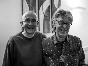 Brian Williams and Roy Kibbler