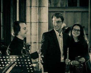 Tom Bertolotti, Ivan Alekhin and Kate Bateman