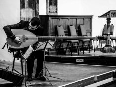 Alex McCartney and Theorbo
