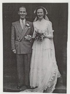 Mum and Dad wedding