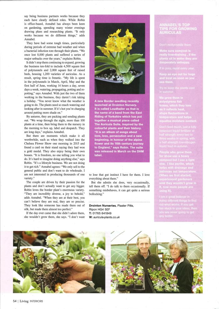 Northern Echo - Living magazine p2