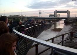 Scale Lane Bridges swing for Open Bridges