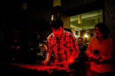 Zach and Marimba at the Jaz Bar 07.01.18