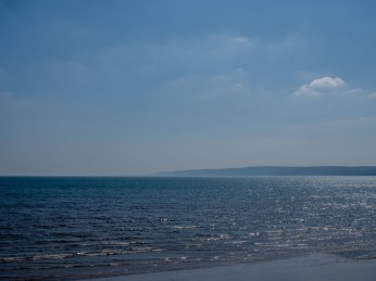Flamborough Head from Filey Bay