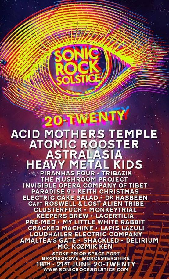 Sonic Rock Poster